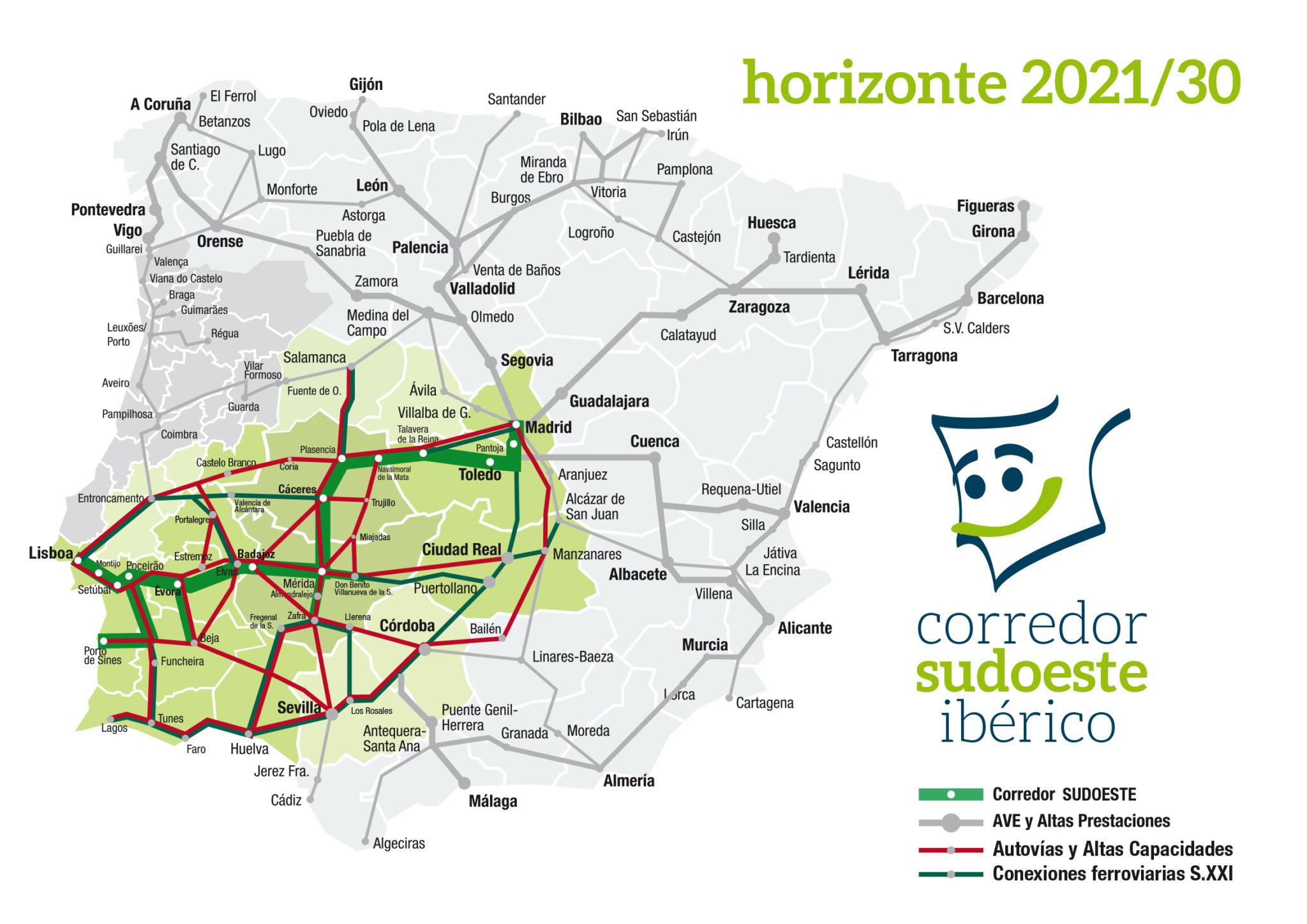 mapa-corredor-sudoeste-iberico-tren-ave-extremadura-mapa-conexiones