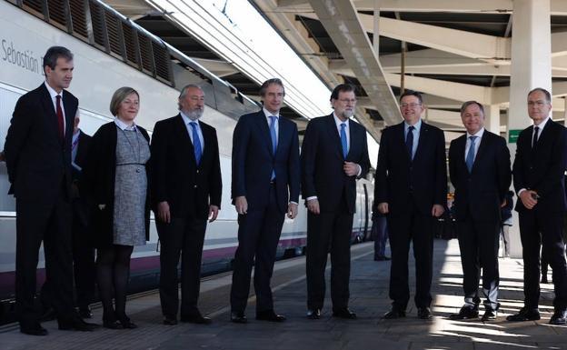 El primer AVE llega a Castellón (LAS PROVINCIAS.ES)