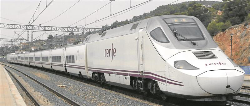 Terminan la obra que hará más rápido el Euromed a Barcelona (EL PERIÓDICO MEDITERRÁNEO.COM)