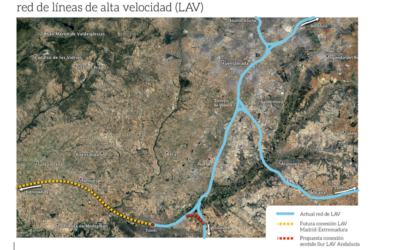 PROPOSTA V. LIGAÇÃO COM A LINHA DE ALTA VELOCIDADE MADRID- SEVILLA