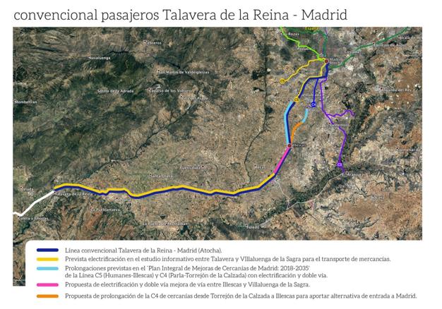 (Español) PROPUESTA IV. LÍNEA CONVENCIONAL TALAVERA-MADRID
