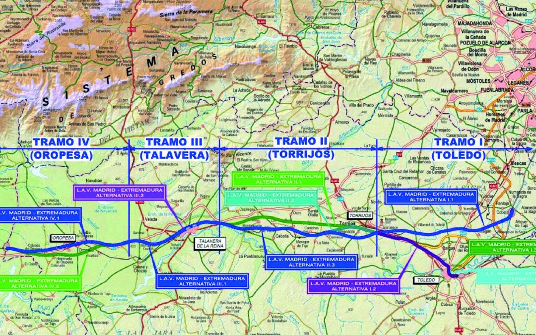 (Español) CSOI presenta las alegaciones al Estudio Informativo de la LAV Madrid-Extremadura tramo Madrid-Oropesa