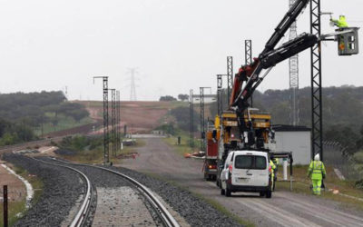 (Español) Adif destina 33 millones a electrificar la alta velocidad de Mérida a Badajoz