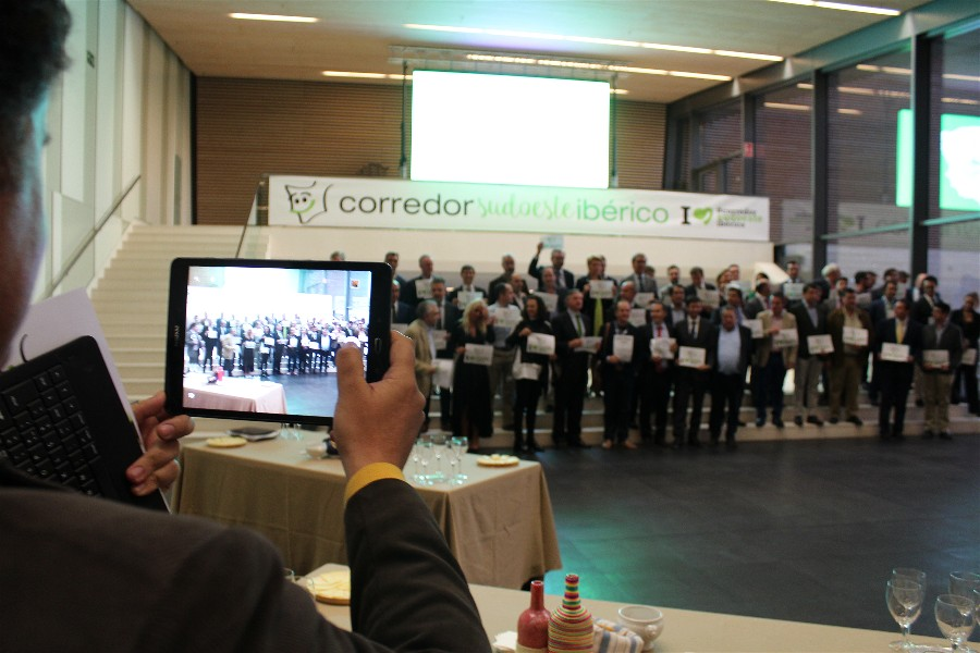 The First Cross-Border Business Forum of the Iberian Southwest Corridor was held in Badajoz