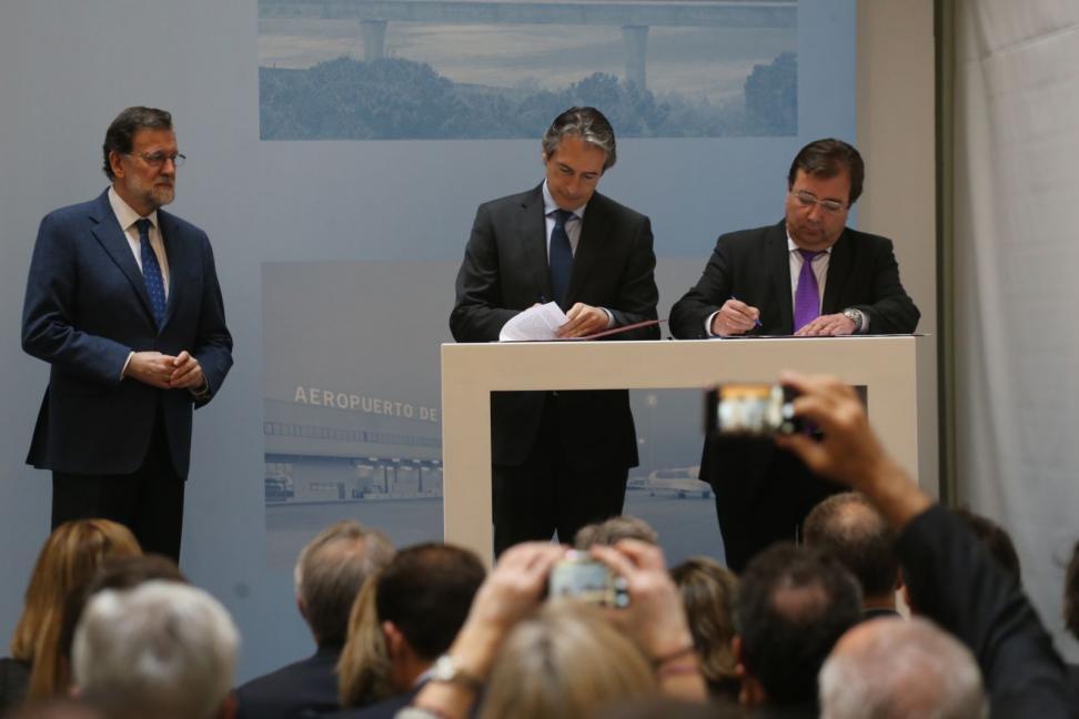 Rajoy anuncia um investimento de 20 milhões para as estações de trem Plasencia, Mérida, Badajoz e Cáceres (EL PERIÓDICO EXTREMADURA.COM)